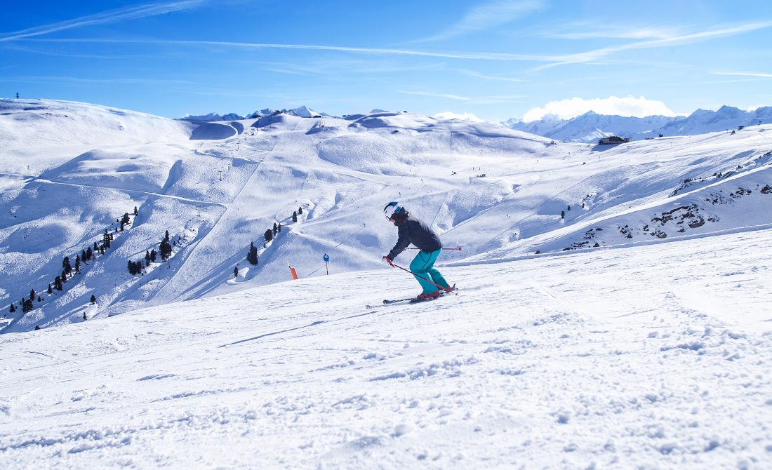 Aktivitäten Skifahren